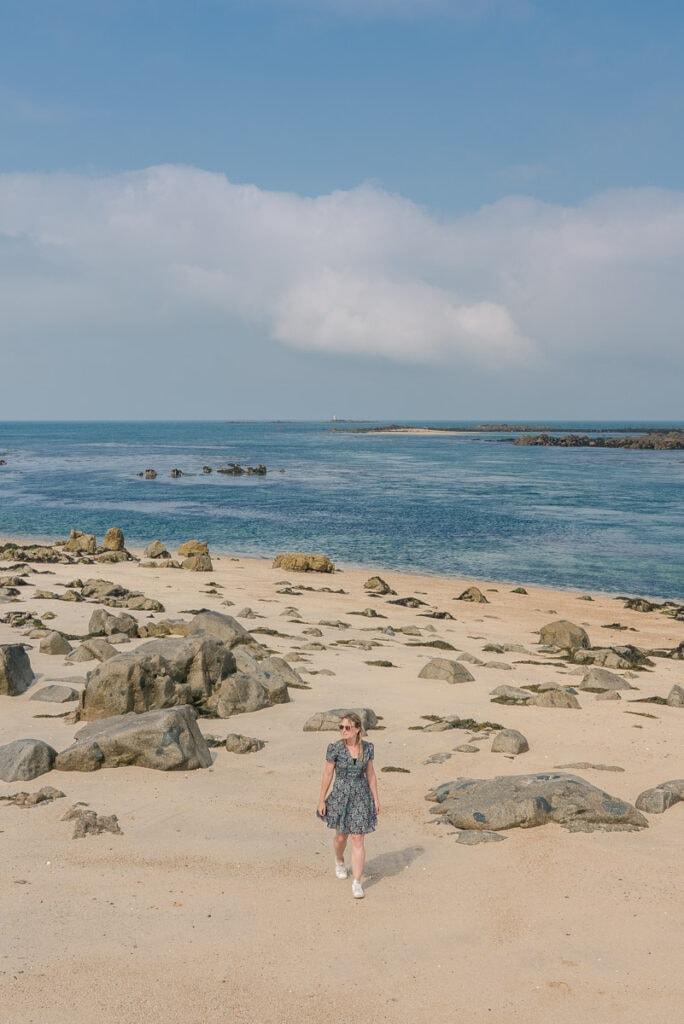 Alderney Point on Shell Beach, Herm