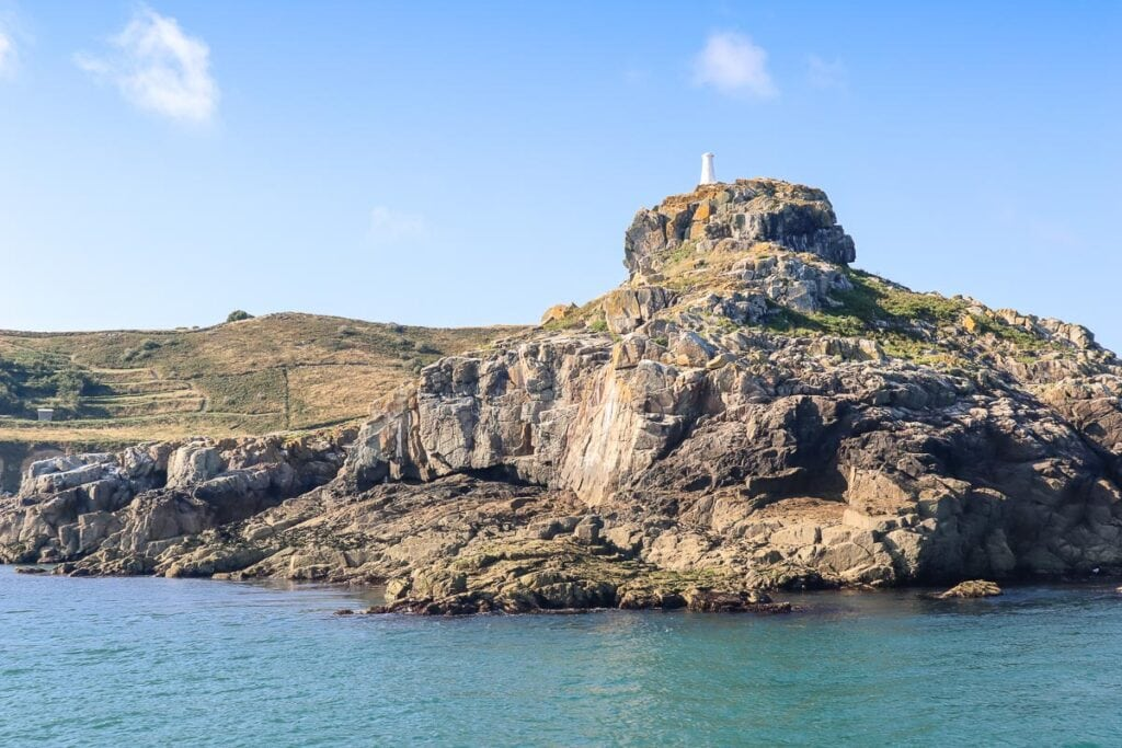 View from the Herm ferry