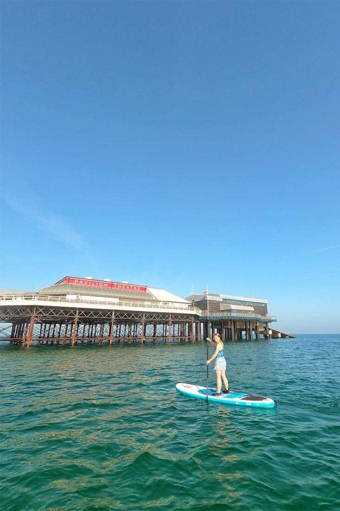 paddleboarding cromer